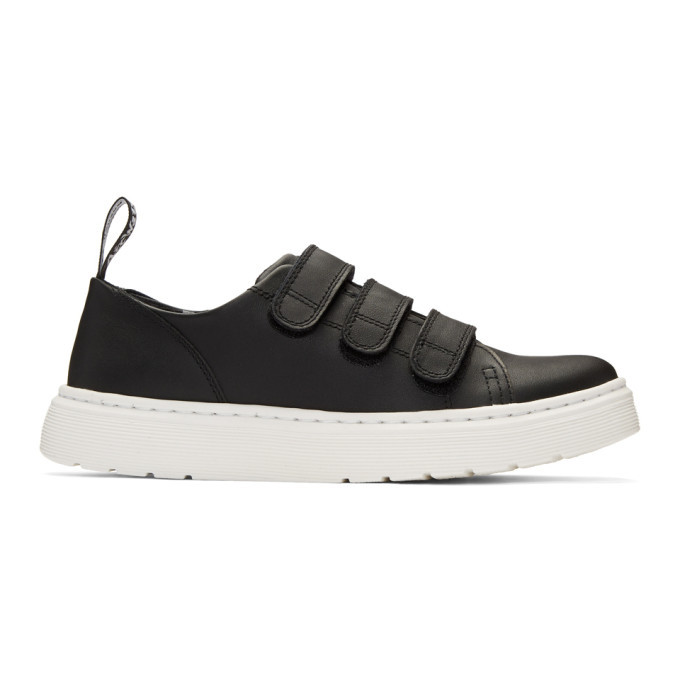 Photo: Dr. Martens Black Dante Strap Sneakers