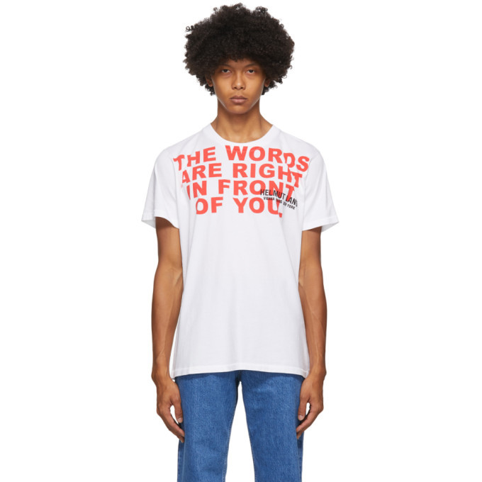 Photo: Helmut Lang White Willie Norris Edition Standard T-Shirt