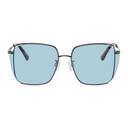 MCQ Blue Square Iconic Sunglasses