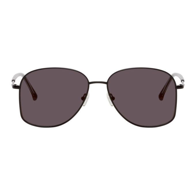 Photo: Dries Van Noten Black Linda Farrow Edition 199 C1 Sunglasses