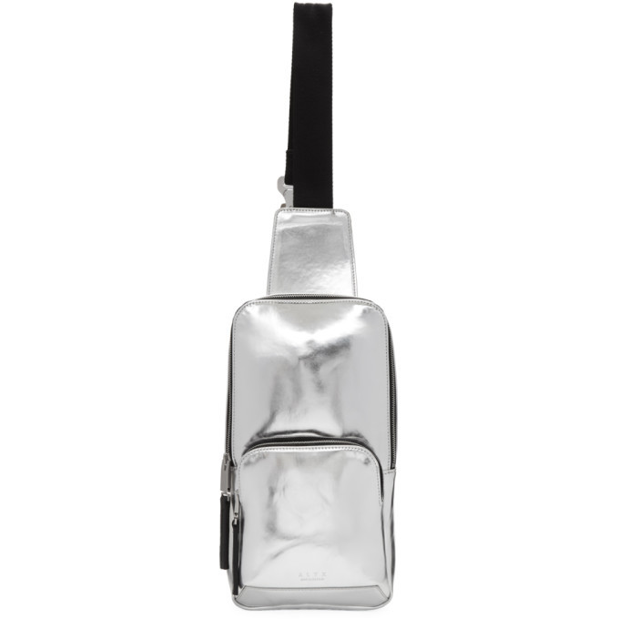 Photo: 1017 Alyx 9SM Silver Small Metallic Backpack