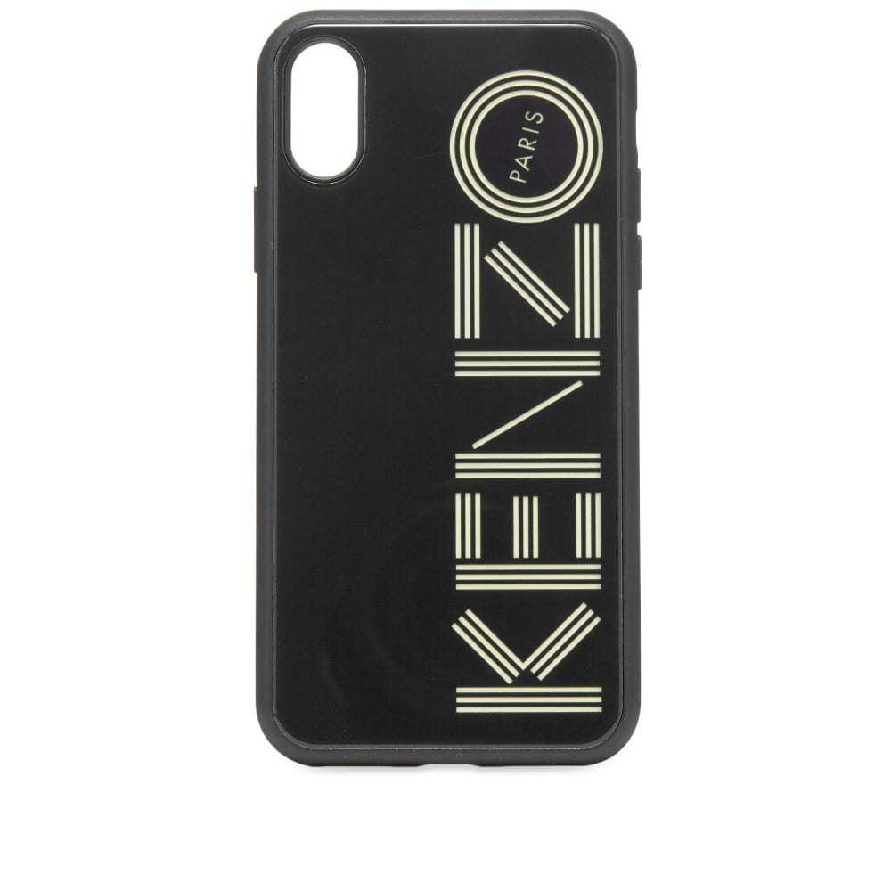 Photo: Kenzo iPhone X/XS Glow In The Dark Logo Case