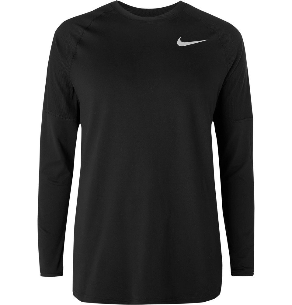 Nike Running - Element Dri-FIT T-Shirt - Men - Black