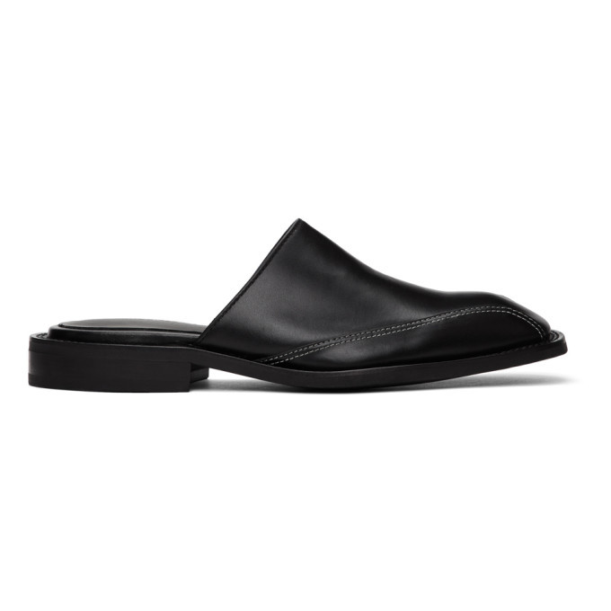 Photo: Andersson Bell Black Square Toe Mules