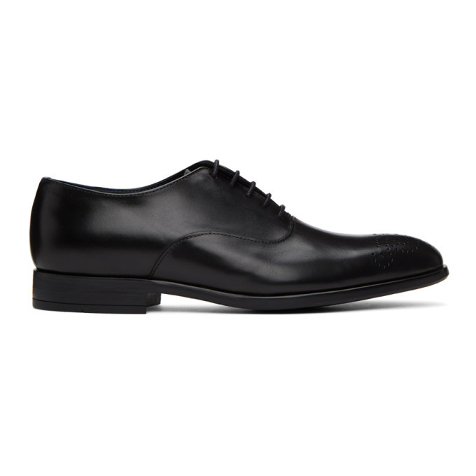 Photo: PS by Paul Smith Black Guy Oxfords