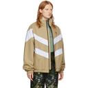 Martine Rose Beige Fleece Lining Jacket