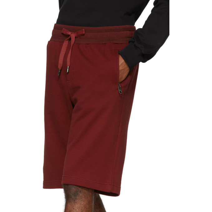 Dolce and Gabbana Red Scuro Bermuda Shorts