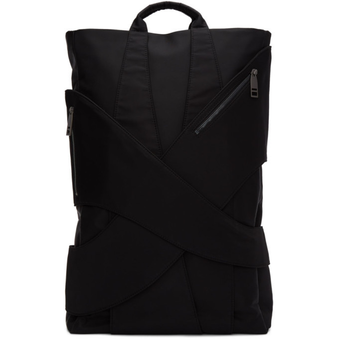 Photo: Feng Chen Wang Black Large Layered Backpack