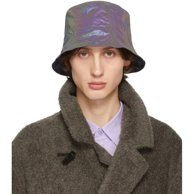 Photo: Issey Miyake Men Reversible Navy Bucket Hat
