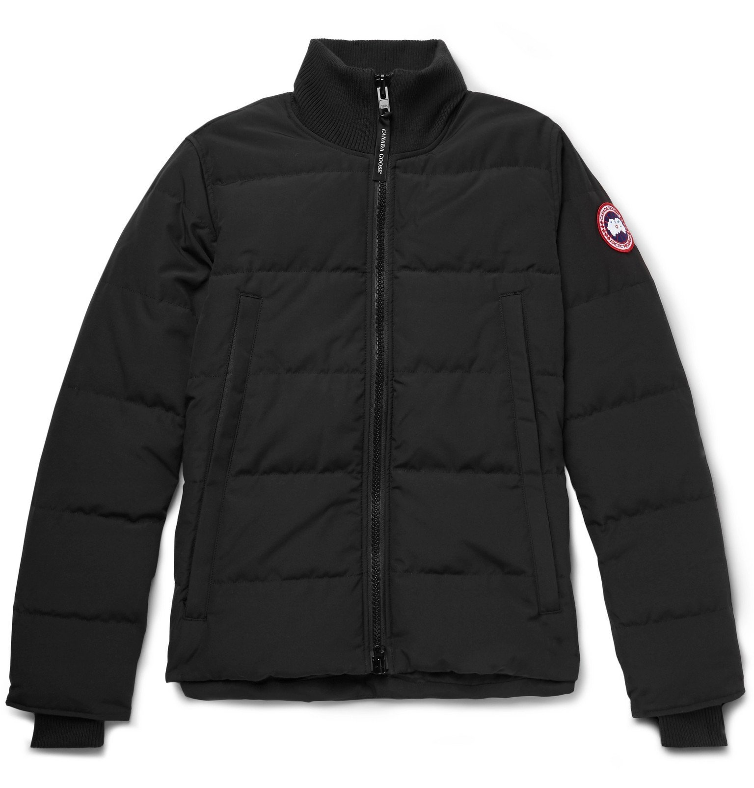 Photo: Canada Goose - Woolford Slim-Fit Quilted Arctic Tech Down Jacket - Black