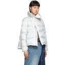 Sacai Grey Down Puffer Jacket