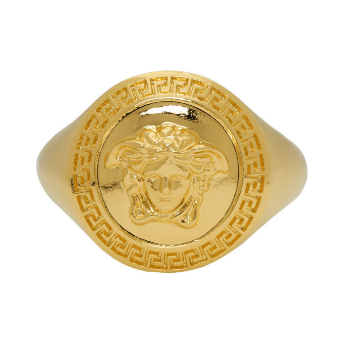 Photo: Versace Gold Medusa Ring