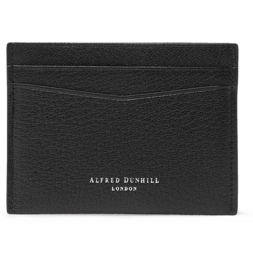 Dunhill - Duke Full-Grain Leather Cardholder - Black