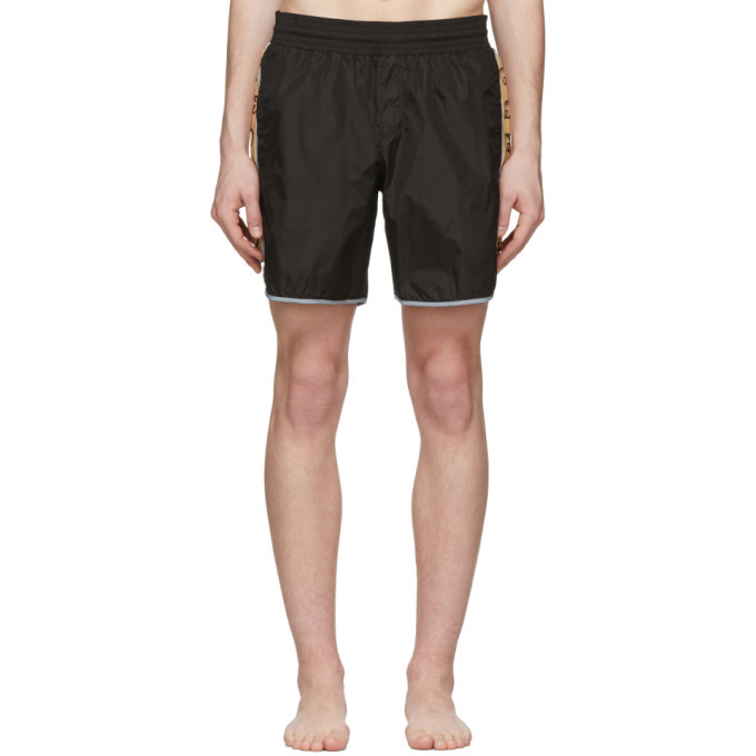 Photo: Gucci Black Nylon Swim Shorts
