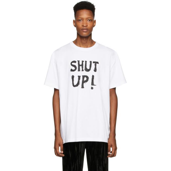 Photo: VETEMENTS White Shut Up T-Shirt
