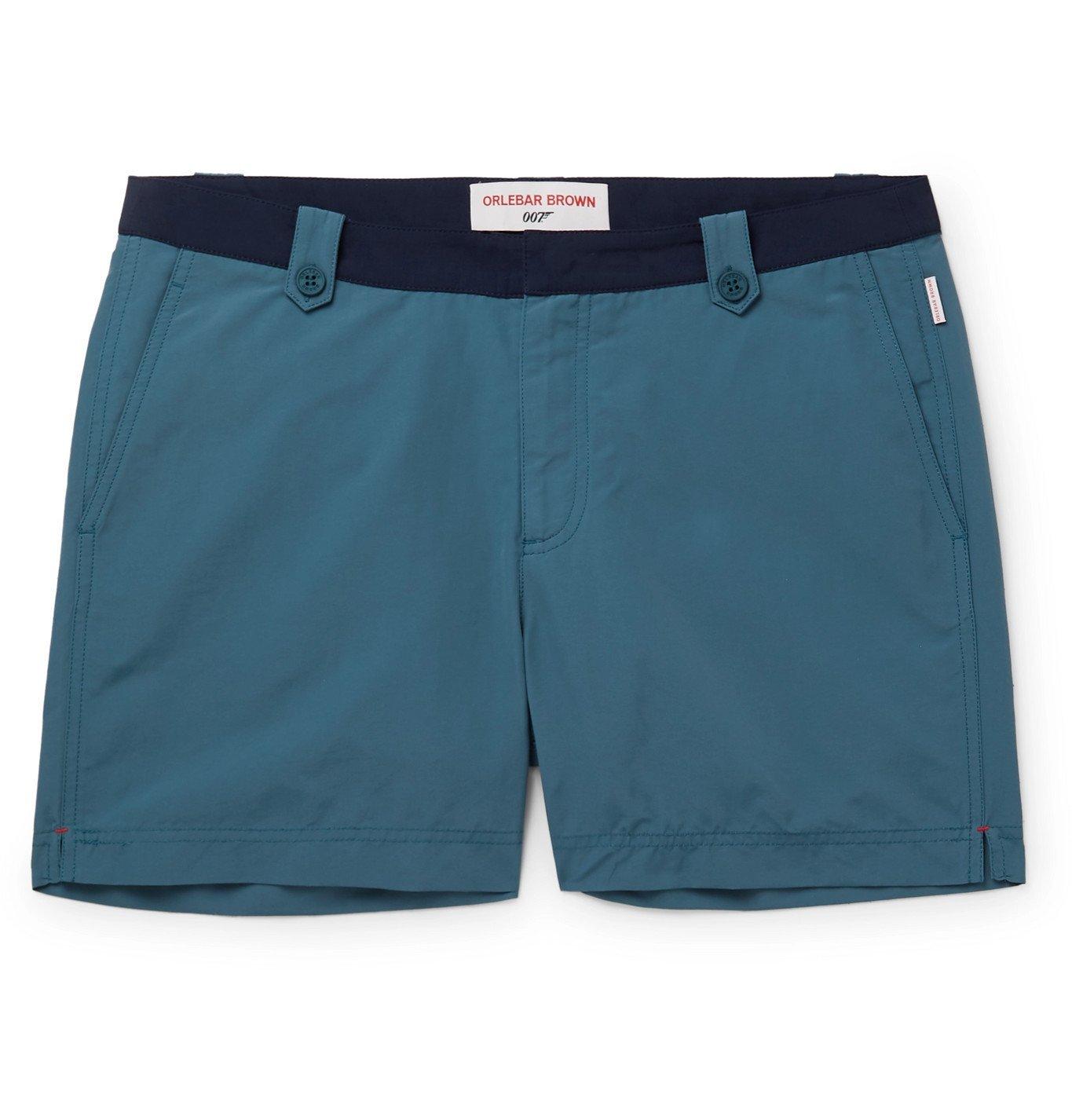 Photo: Orlebar Brown - Setter Short-Length Swim Shorts - Blue