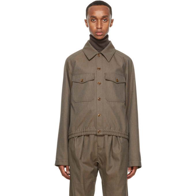 Photo: Lemaire Brown Military Jacket