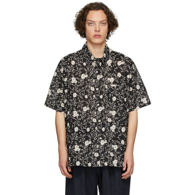 Photo: Isabel Marant Black Iggy Short Sleeve Shirt
