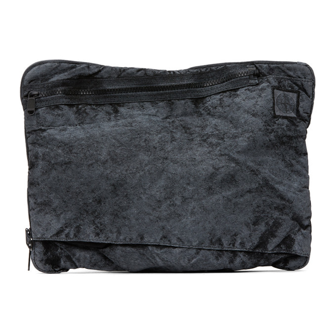 Photo: Stone Island Black Nylon Laptop Pouch