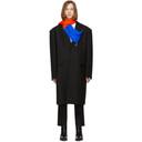 Raf Simons Black Classic Zippered Big Coat