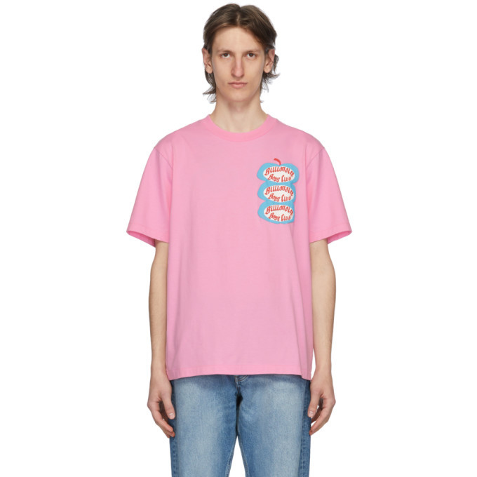 Photo: Billionaire Boys Club Pink Apple Logo T-Shirt