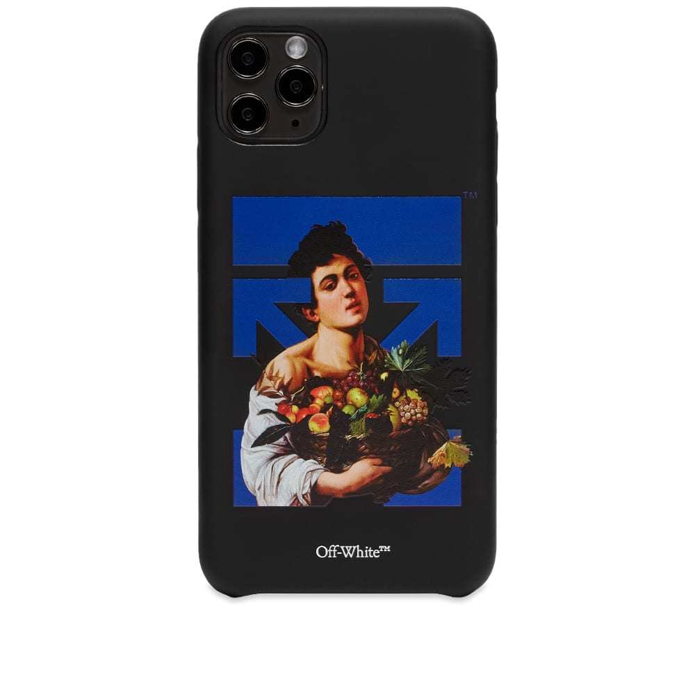 Photo: Off-White Caravag Boy iPhone 11 Pro Max Cover
