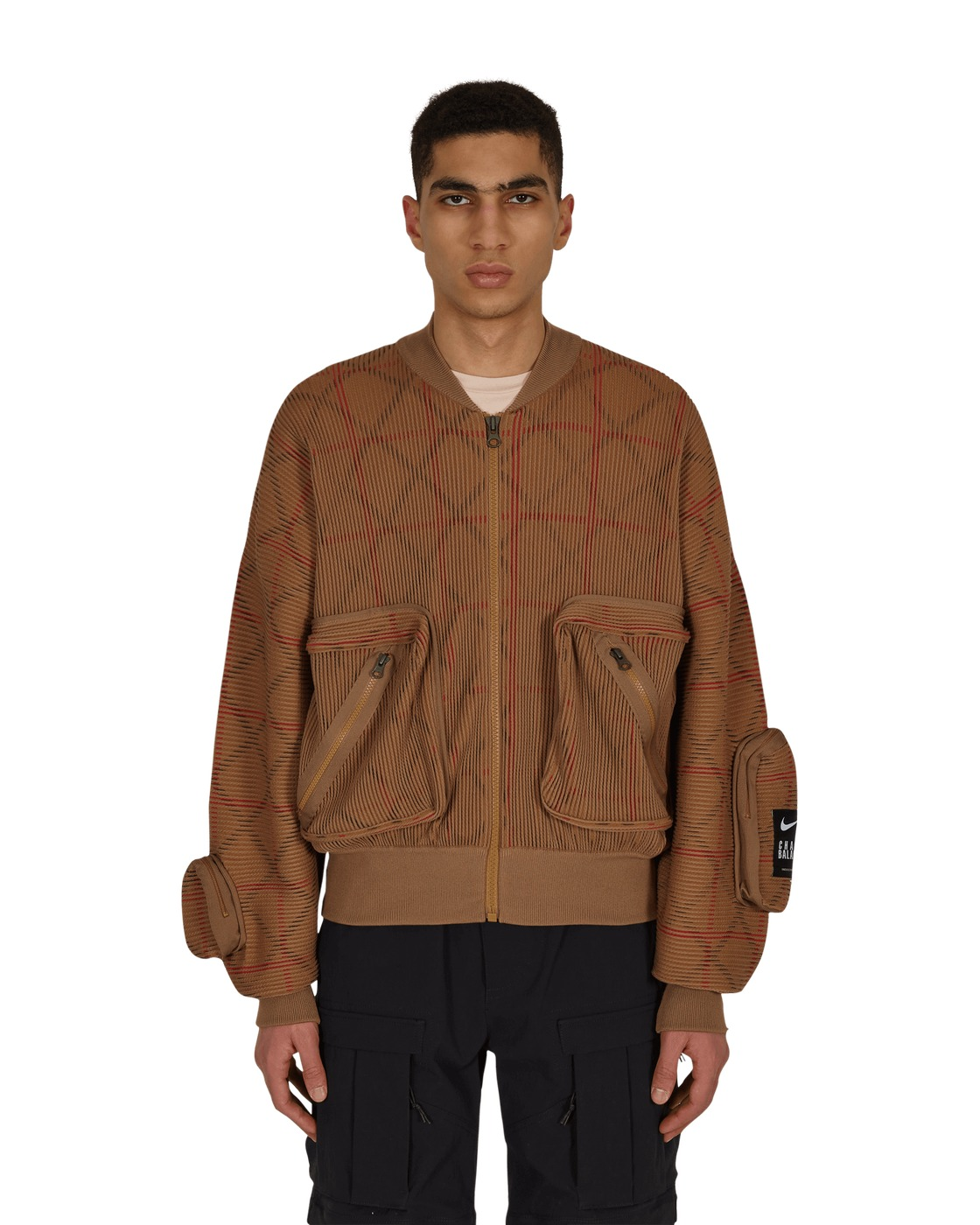 Nike Special Project Undercover Knit Ma 1 Jacket Lichen Brown