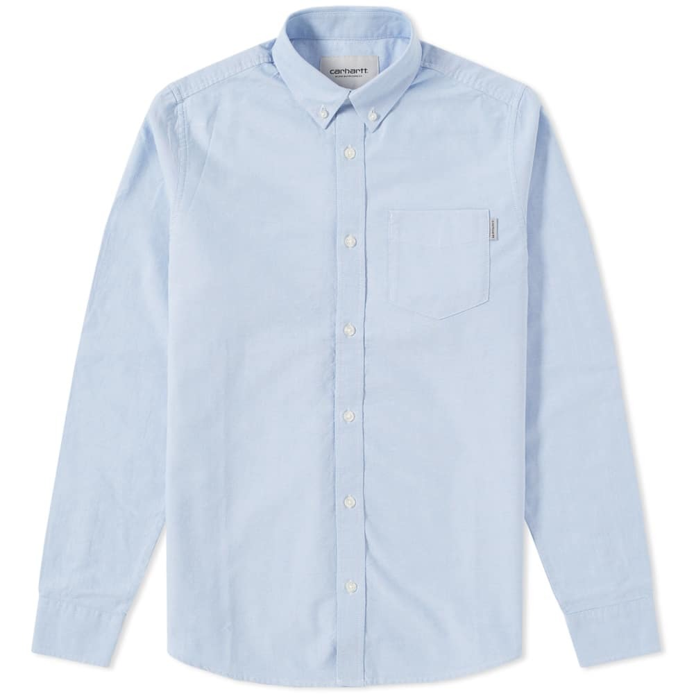 Photo: Carhartt Button Down Pocket Shirt Blue