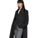Sacai Black Suiting Coat