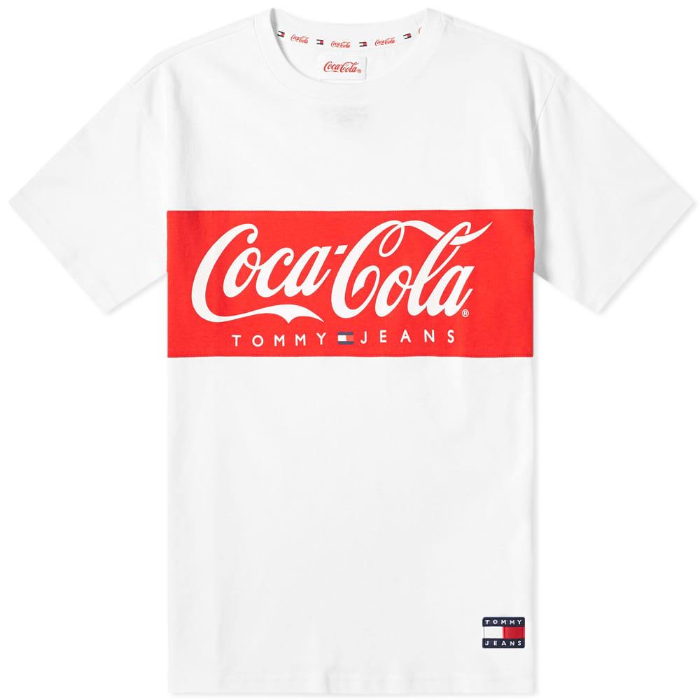 Photo: Tommy Jeans x Coca-Cola Tee Bright White