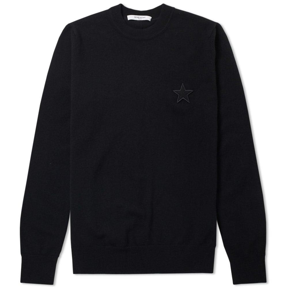 Photo: Givenchy Star logo Crew Neck Knit