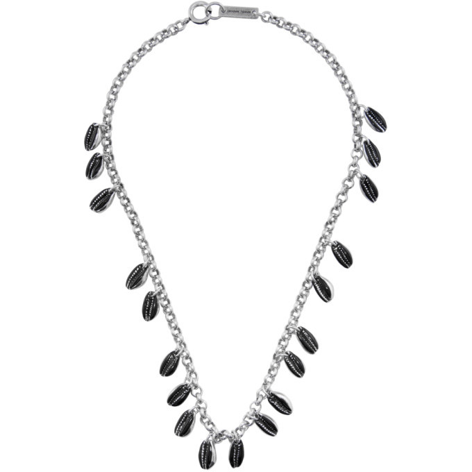 Photo: Isabel Marant Black and Silver New Amer Necklace