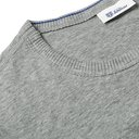 Schiesser - Ludwig Slim-Fit Mélange Stretch-Cotton Jersey T-Shirt - Gray
