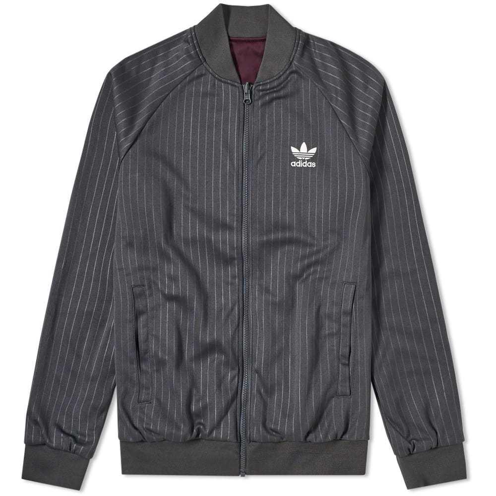Adidas Reversible Track Jacket Grey