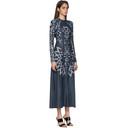 GmbH Navy Digital Nettle Elif Dress