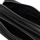 Smythson - Full-Grain Leather Messenger Bag - Black