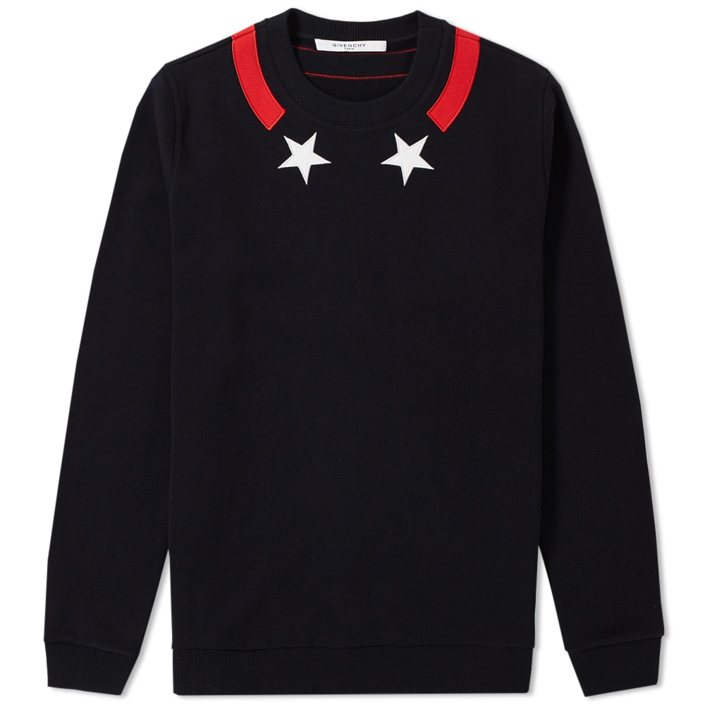 Photo: Givenchy Cuban Star Tape Collar Sweat