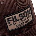 Filson - Logo-Appliquéd Cotton-Corduroy Baseball Cap - Brown
