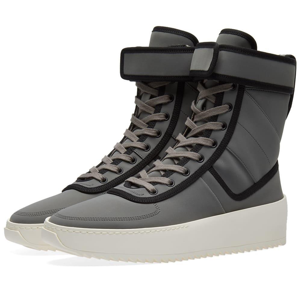 Fear Of God Military Sneaker Grey Fear