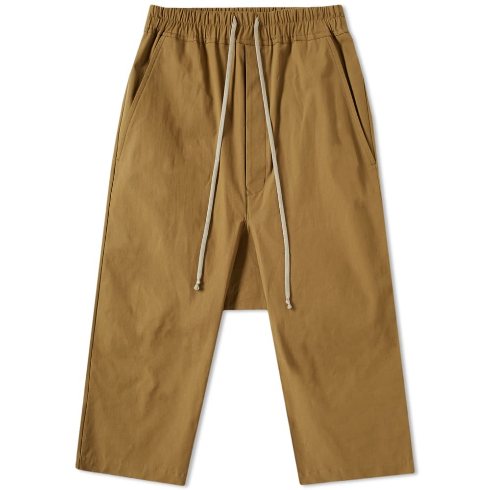 Photo: Rick Owens Drawstring Cropped Pant Mustard