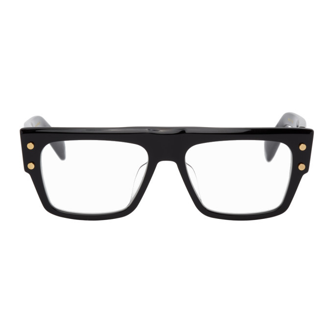 Photo: Balmain Black B-III Glasses