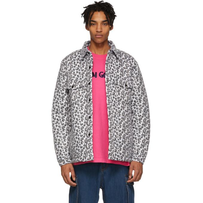 Photo: Noon Goons White Leopard Compa Shirt Jacket