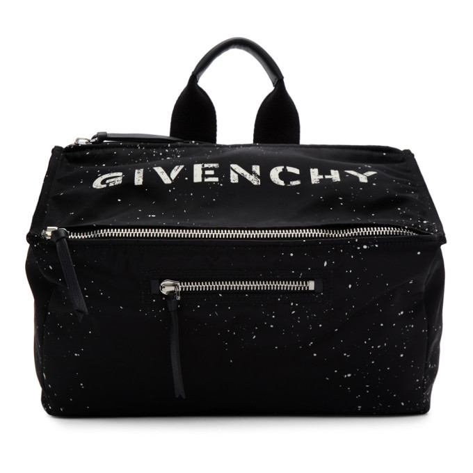 Photo: Givenchy Black Stencil Pandora Messenger Bag