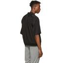 3.1 Phillip Lim Black Ribbed-Hem Souvenir Shirt