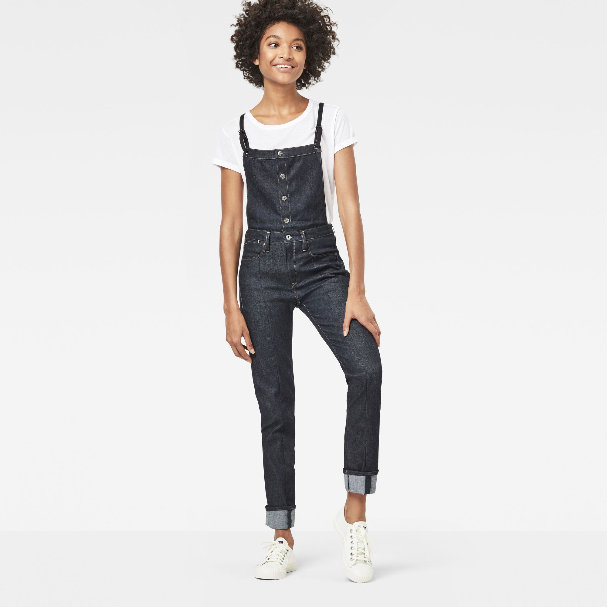 Photo: Lanc Straight Overall Prestored Jeans