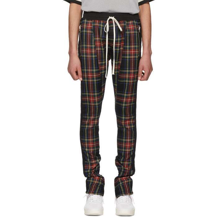Photo: Fear of God Multicolor Wool Plaid Trousers