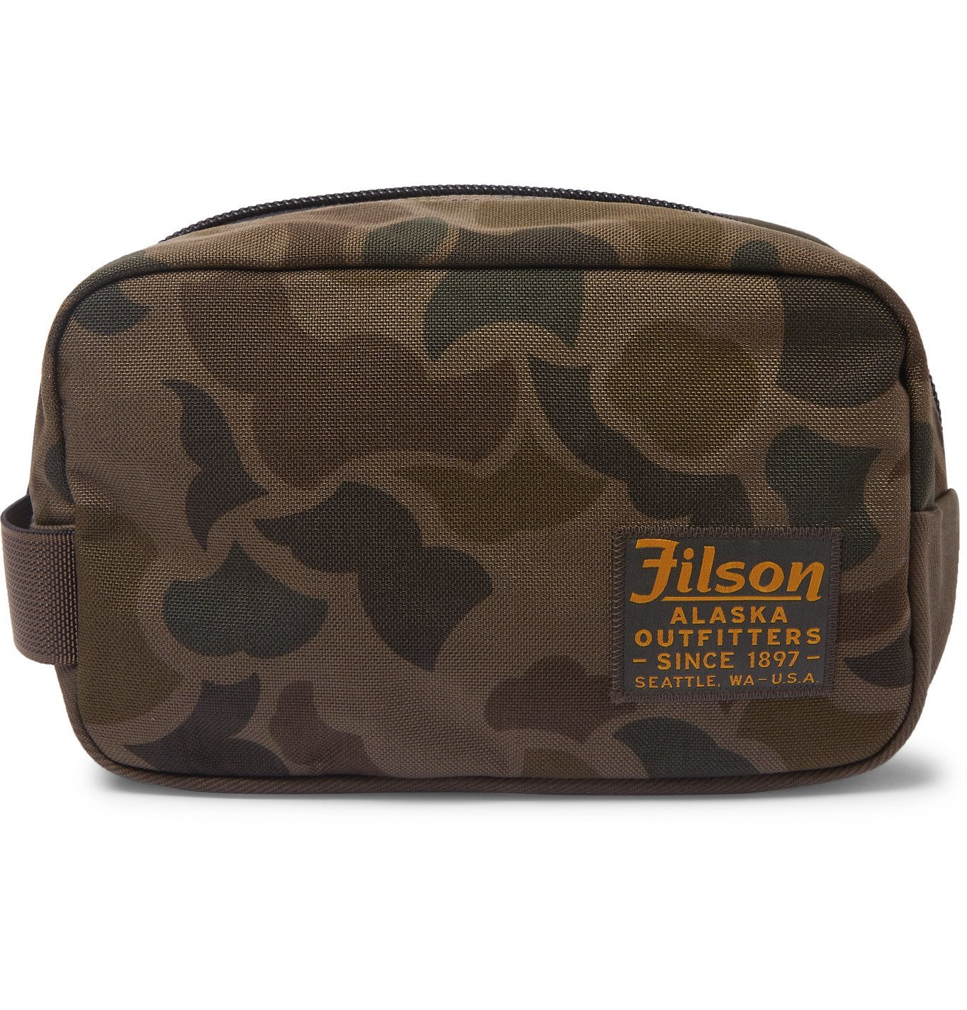 Filson - Limited Edition Camouflage-Print CORDURA Nylon Wash Bag - Green