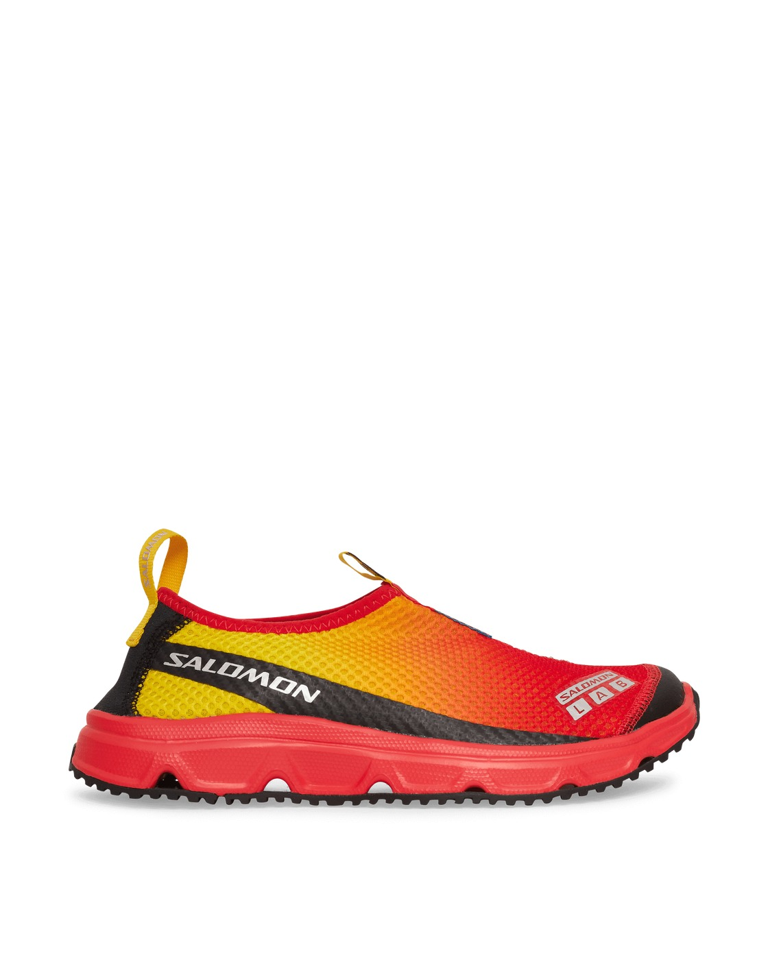 Photo: Salomon Rx Moc 3.0 Advanced Sneakers Lemon/Racing Red