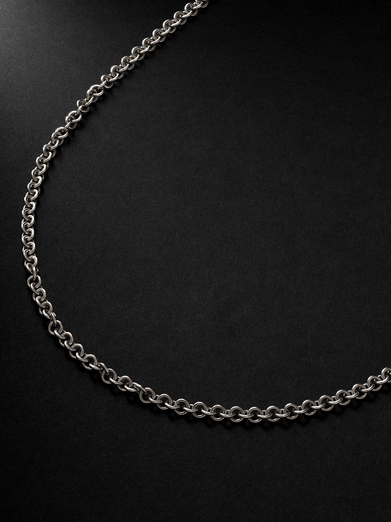 Photo: Spinelli Kilcollin - Orbit Silver Necklace