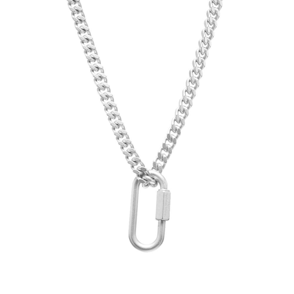 Photo: Maison Margiela 11 Logo Carabiner Necklace